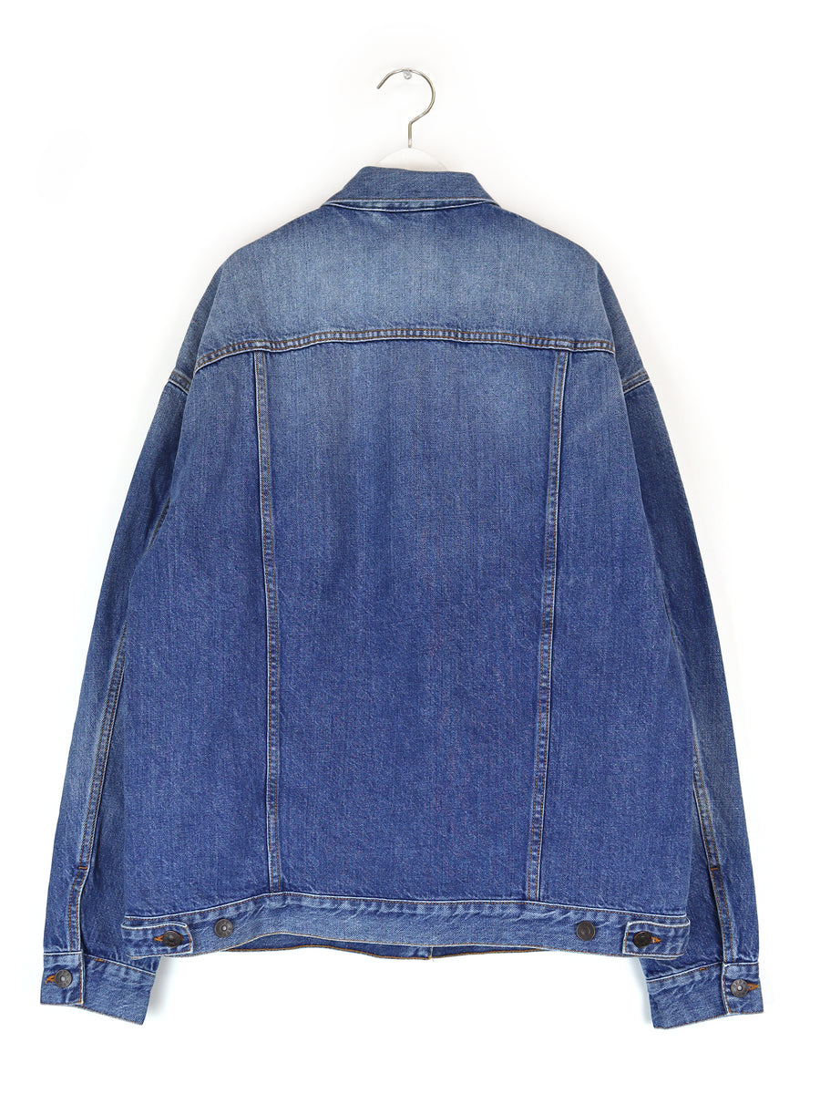 Jean Jacket in Stone Blue