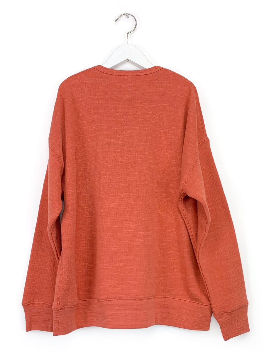 Vintage Sweatshirt in Washed Orange