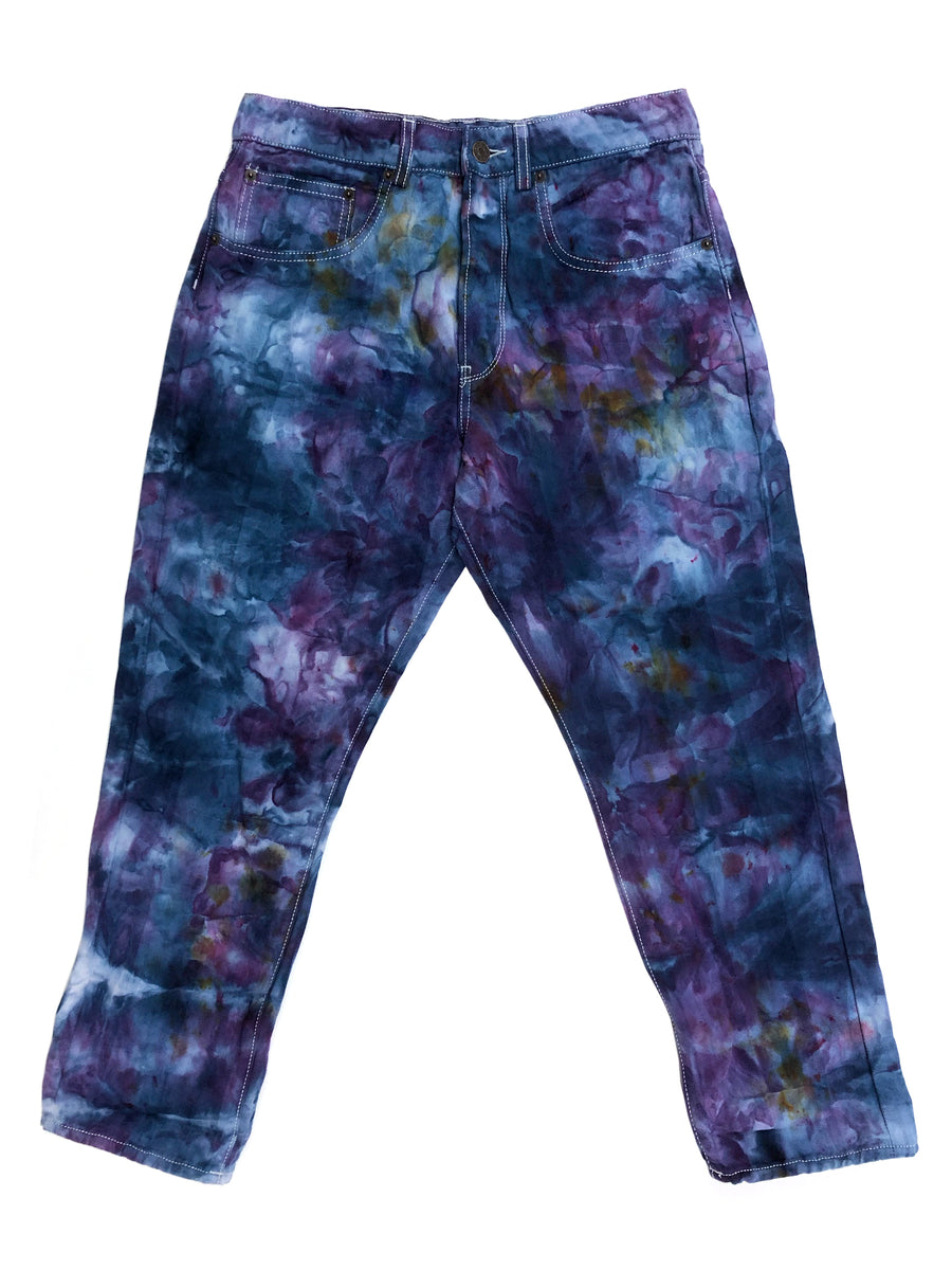 Teal and Purple Shorty - Size 28