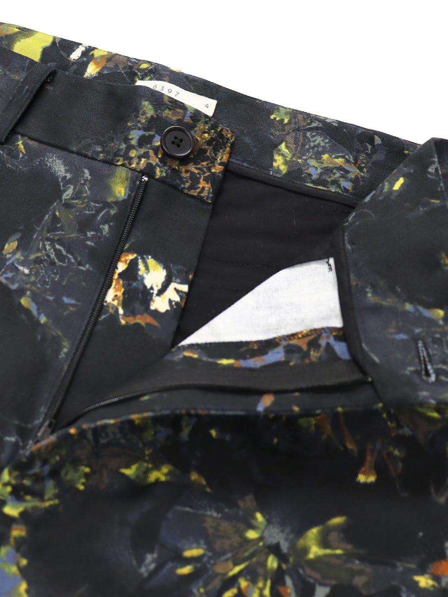 Stella Pant in Black Floral