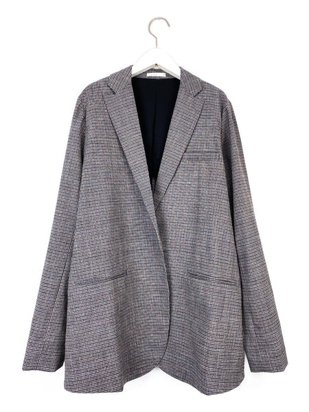 New Swing Blazer in Multi Check