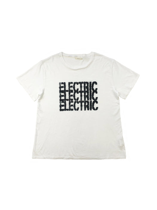 Electric Man T in New White