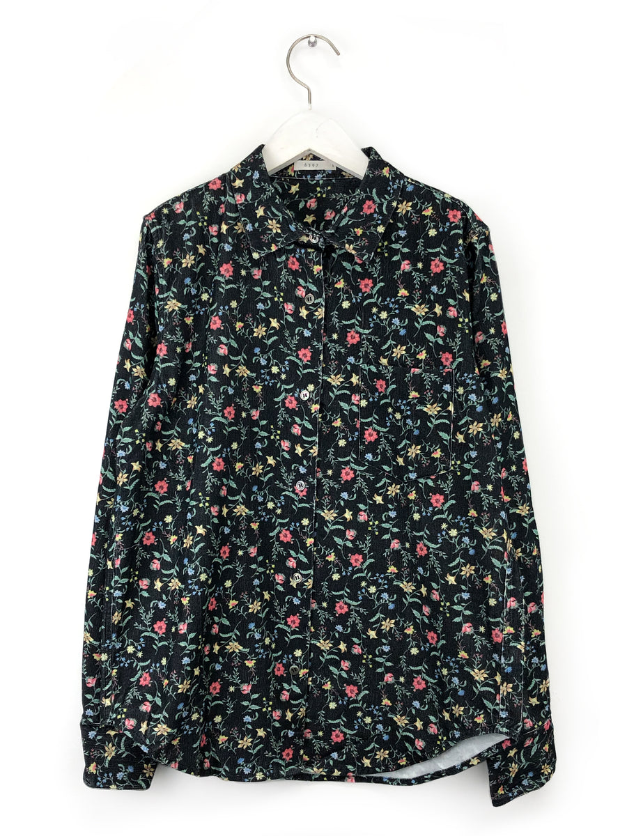 Floral Cord Shirt