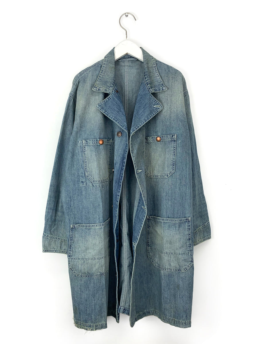 Denim Lab Coat