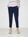 Pull-On Trouser in Midnight Melange