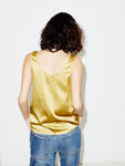 Silk Tank in Gold