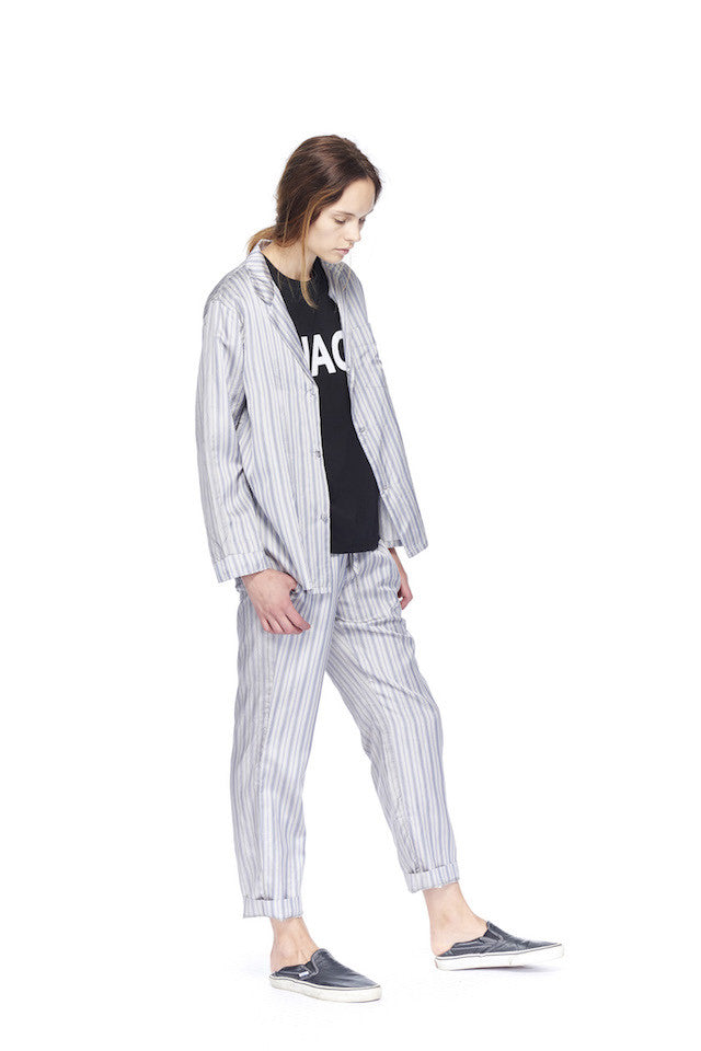 NT068P Muscle T- Ciao- Black, link-6397-nt115s-striped-pj-shirt-grey-navy NT115S Striped PJ Shirt- Grey/Navy Stripe, link-6397-np064s-striped-pj-pant-grey-navy NP064S Striped Pj Pant- Grey/Navy Stripe