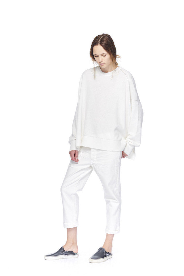 NSW089 Beach Pullover- White, link-6397-np029w-shorty-white NP029 Shorty- White