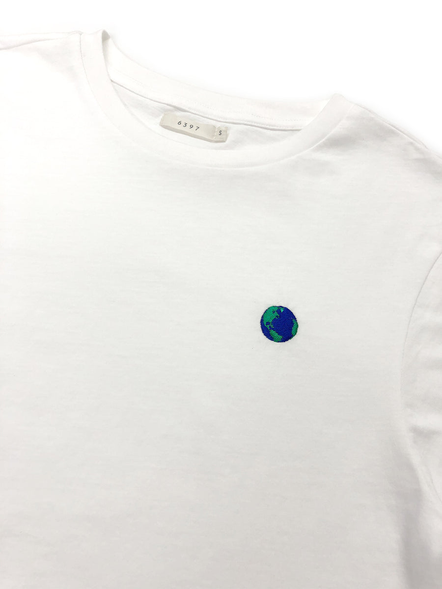 Earth LS Mini Boy T in New White