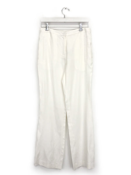 Linen Lori Pant in White