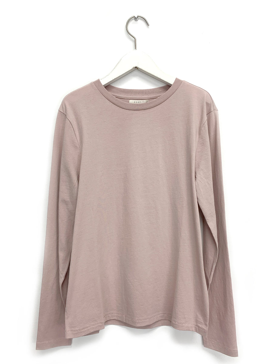 Pink Longsleeve Mini Boy T