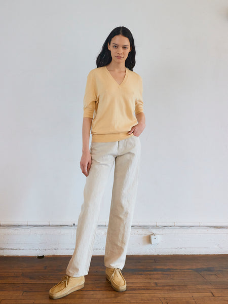 Easy Fit  Pant in Natural