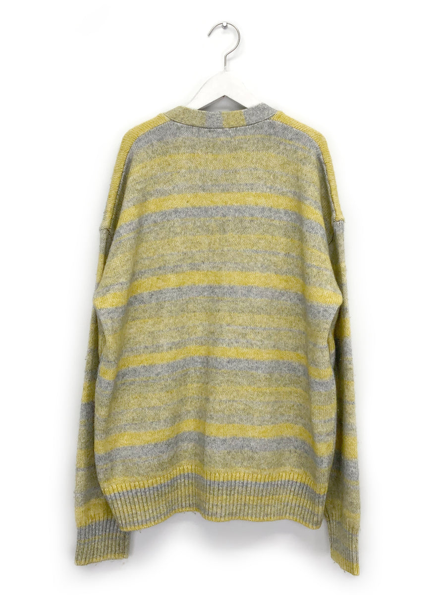 Yellow Spacedye Cardigan