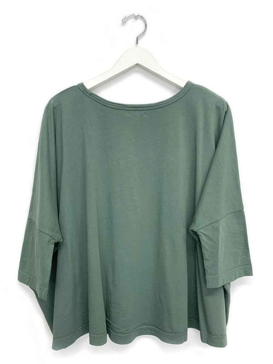 Sage Green Square Tee