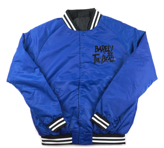 BSTB Bomber Jacket: blue