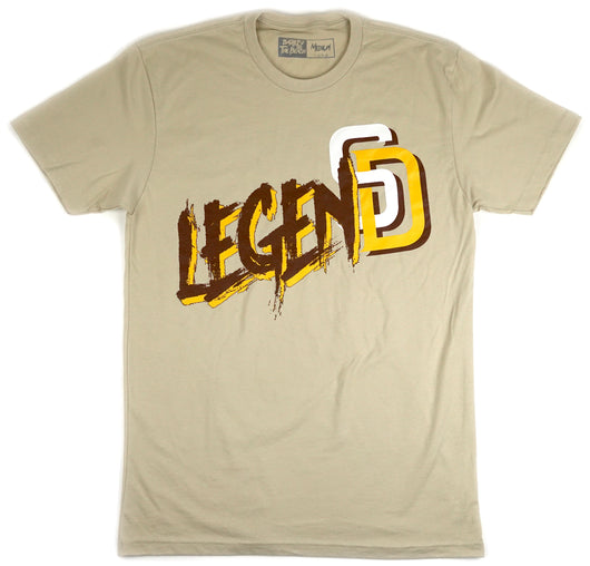 Cream Legend: shirt