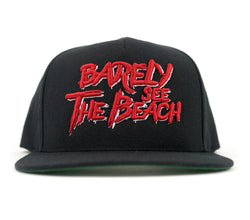 BSTB Snapback: red