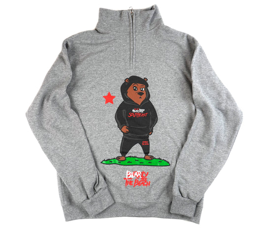 Southeast Cali Bear: 1/4 zip