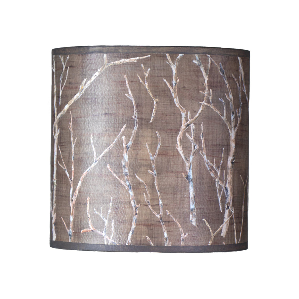 Oval Drum Lamp Shade in Twigs