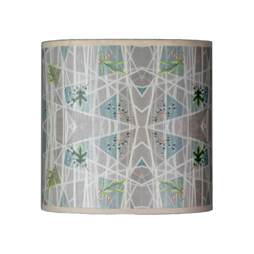 Oval Drum Lamp Shade in Prism