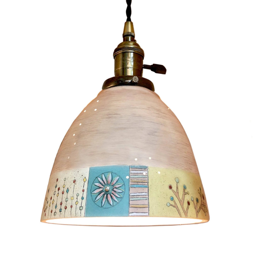 Ceramic Pendant Lampshade in Modern Field