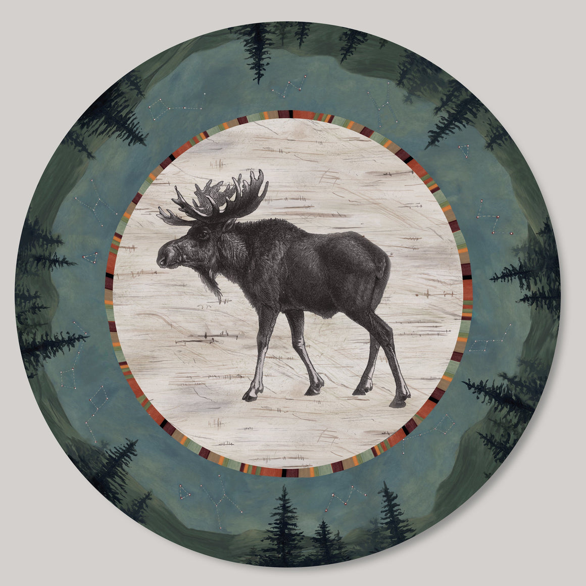 Lazy Susan in Moose Midnight