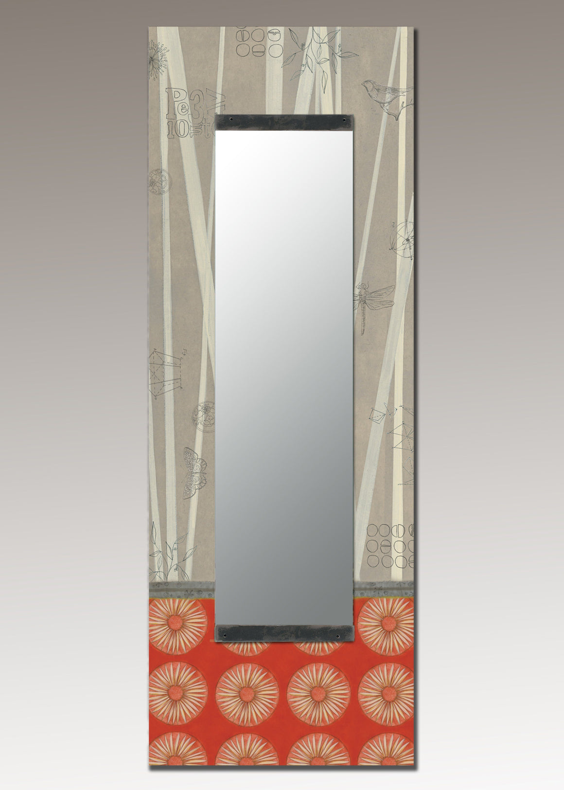 Tall Wall Mirror in Tang