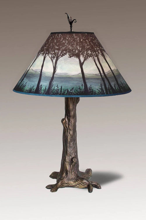 Twilight Tagged Bronze Tree Trunk Table Lamps Janna Ugone Co
