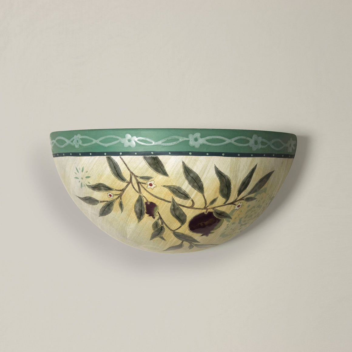 Ceramic Sconce in Pomegranate