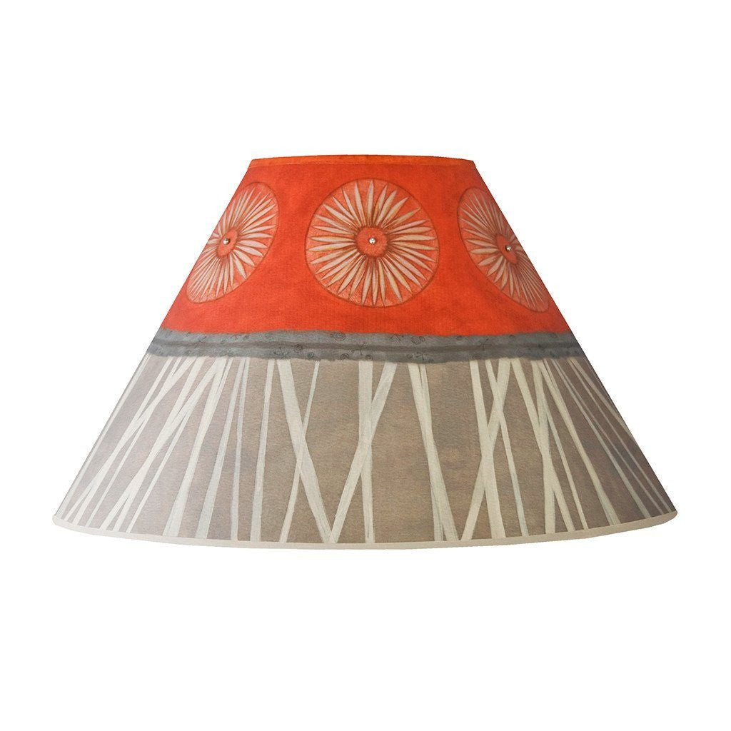Tang Medium Conical Lamp Shade