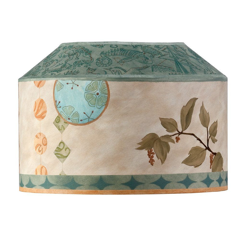 Celestial Leaf Custom Canopy Lamp Shade