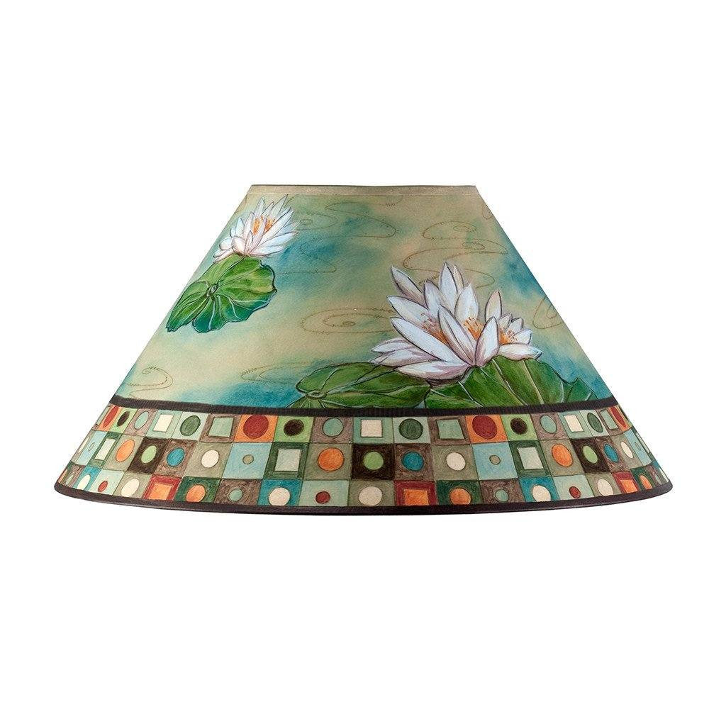 Lily Mosiac Multi Large Conical Lamp Shade