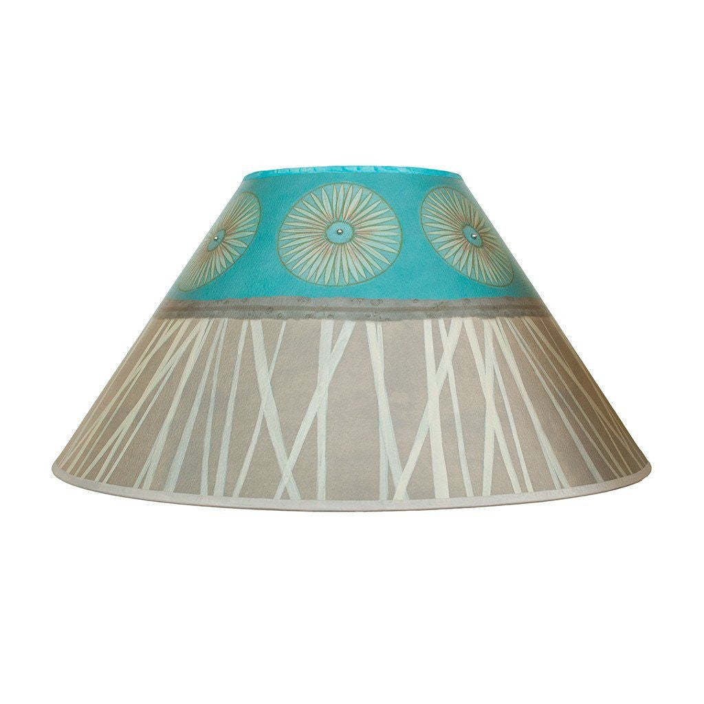 Pool Large Conical Lamp Shade