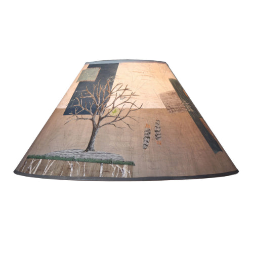 Large conical lamp shade in wander in drift ugone thomas large conical lamp shade in wander in drift mozeypictures Choice Image