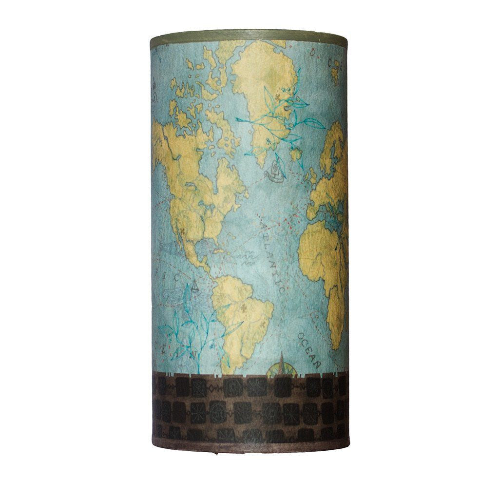 Voyages Accent Tube Lamp Shade
