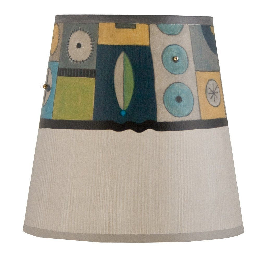 Lucky Mosaic in Oyster Accent Drum Lamp Shade