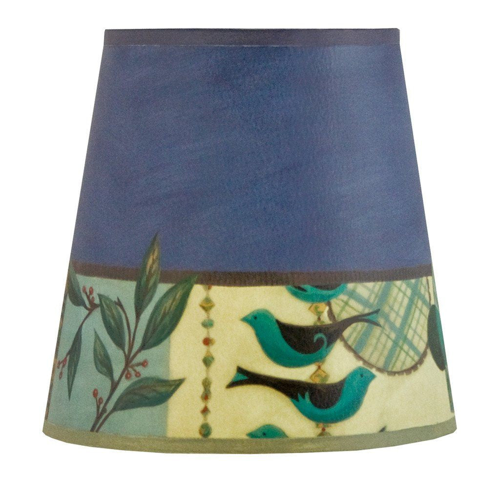 New Capri in Periwinkle Accent Drum Lamp Shade
