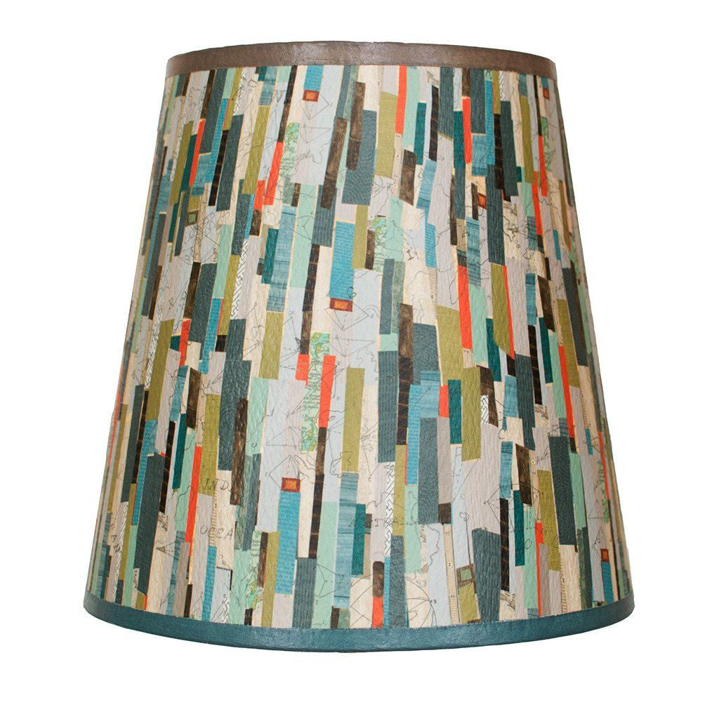 Papers Accent Drum Lamp Shade