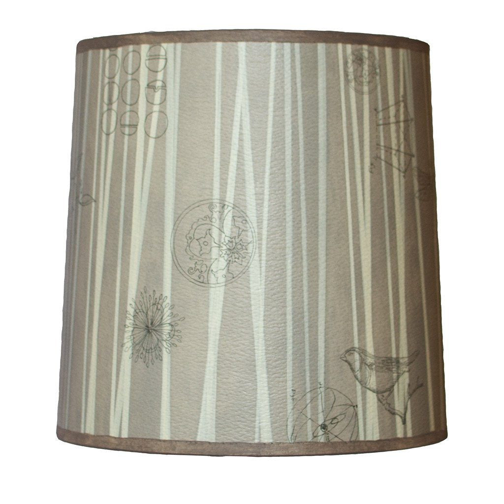 Birch Medium Drum Lamp Shade