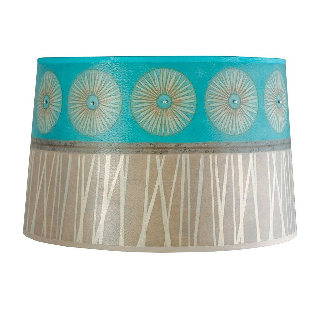 Pool Large Drum Lamp Shade
