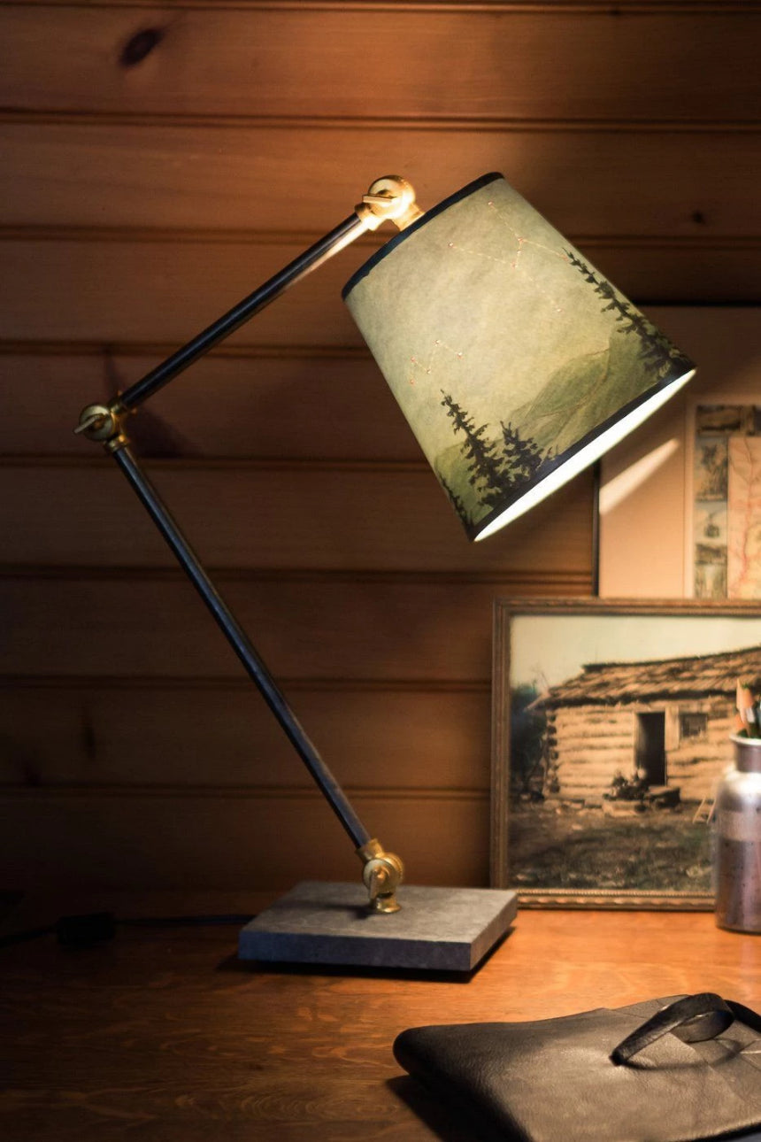 Task table lamp with midnight sky shade ugone thomas task table lamp with midnight sky shade aloadofball Gallery