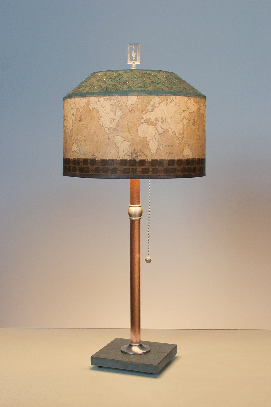 photo ambiance your lamp and enhance use to lamps of table the copper mood
