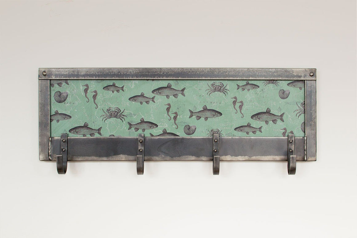 Sealife Steel Coat Rack