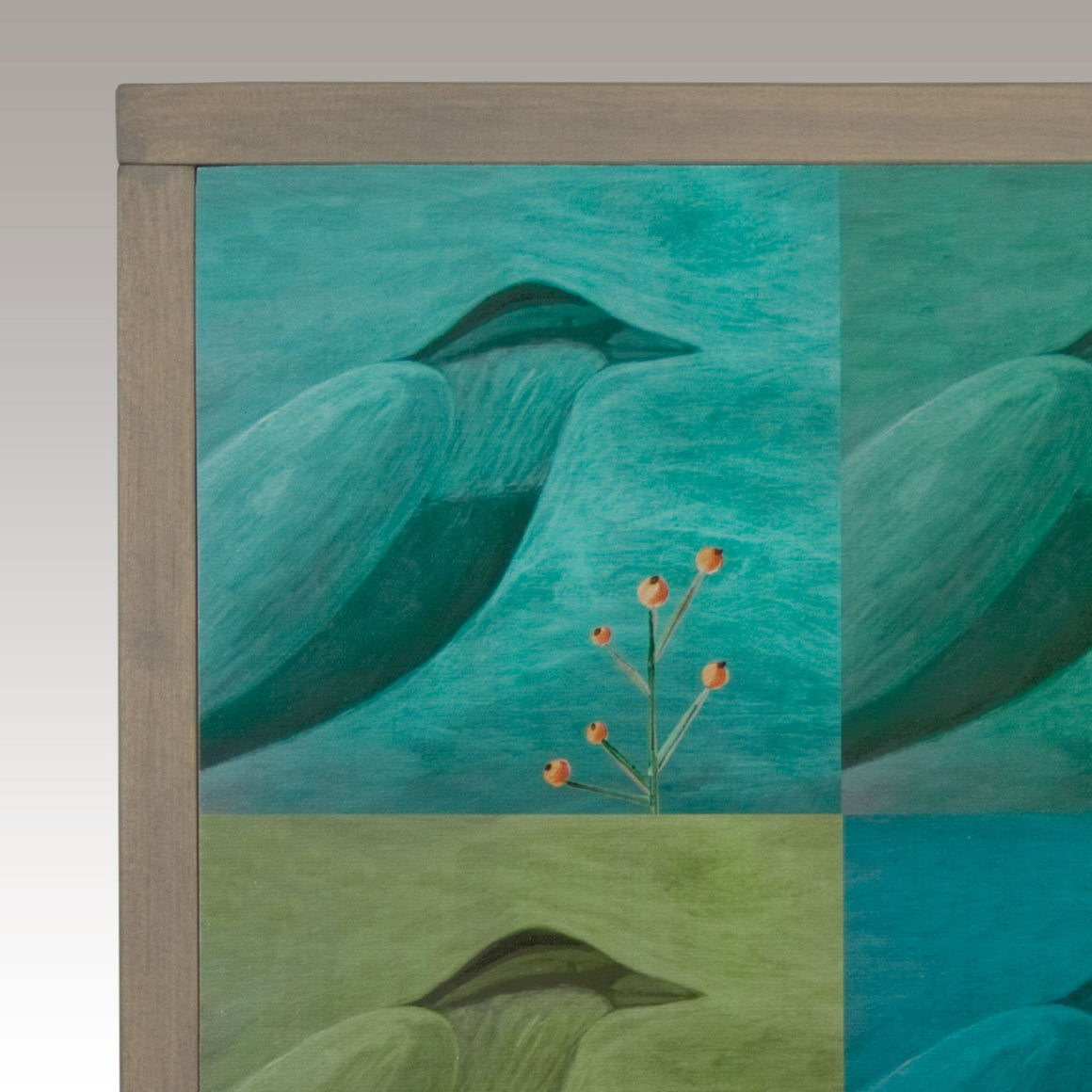 Framed Wall Art in Dream Birds