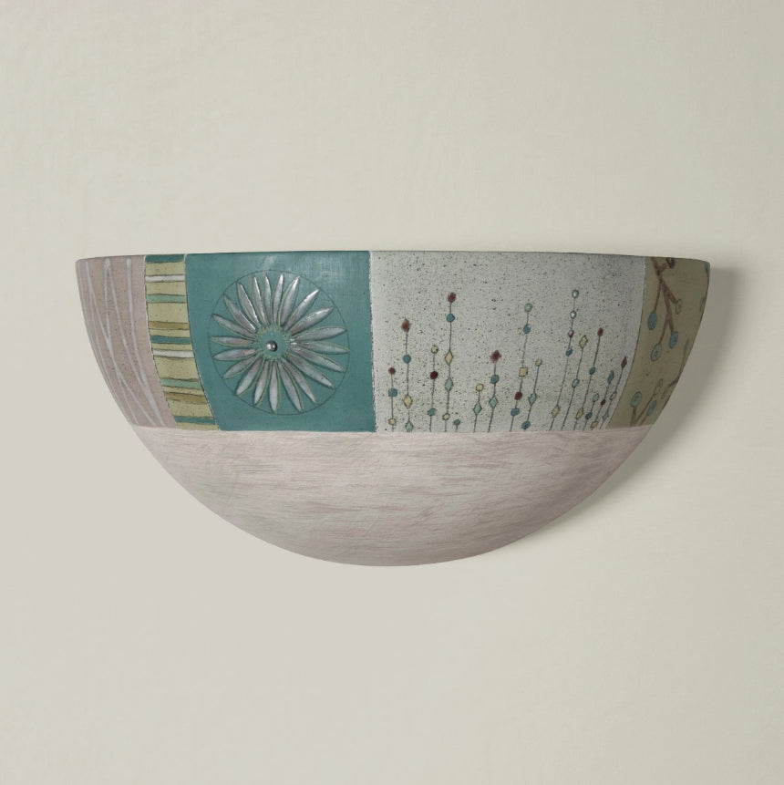 Ceramic Sconce in Modern Field