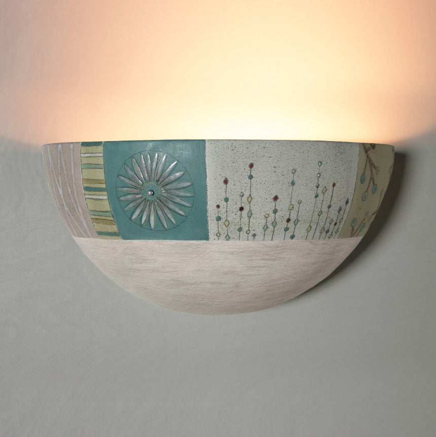 Wall sconces ugone thomas ceramic sconce in modern field amipublicfo Gallery