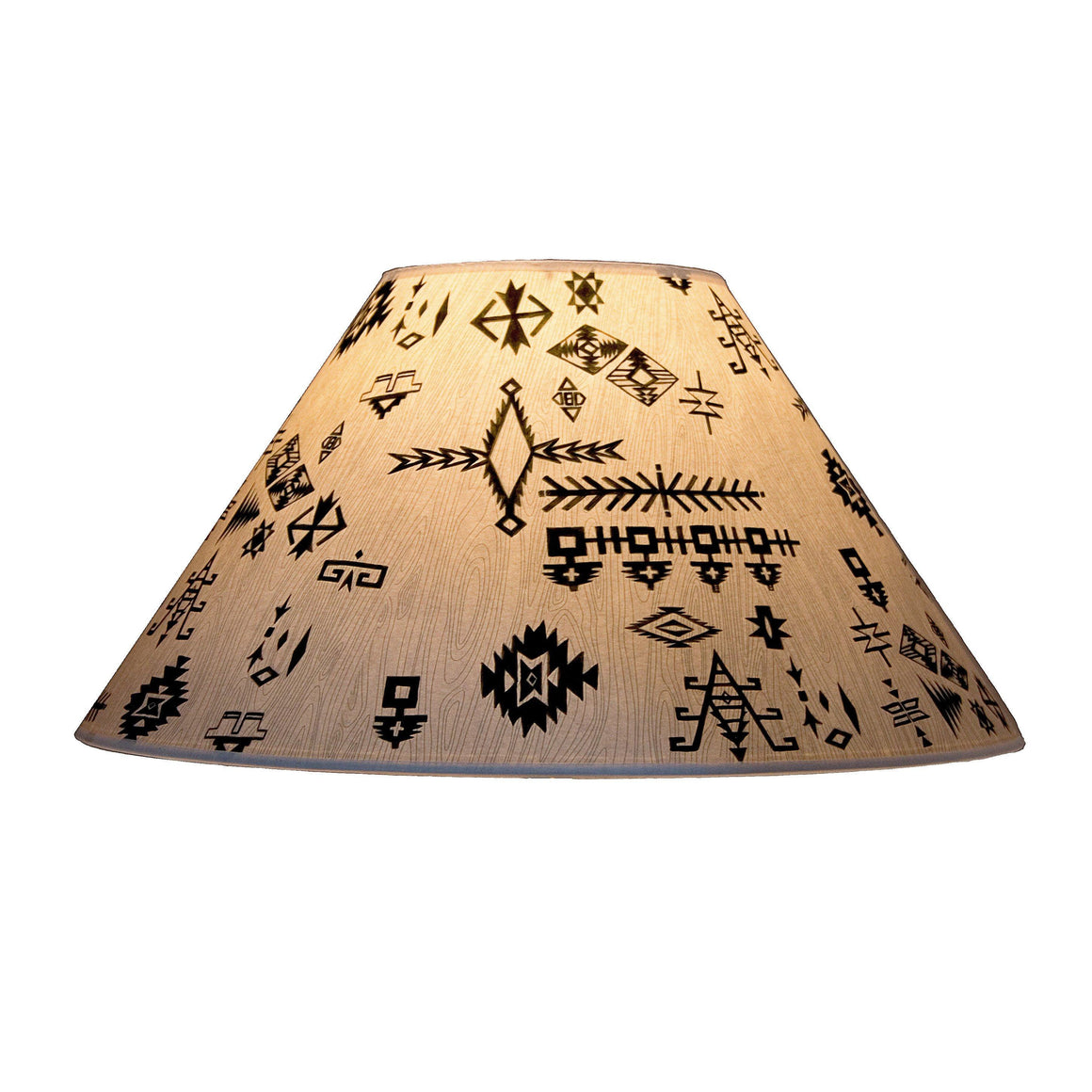 Large Conical Lamp Shade in Blanket Sketches