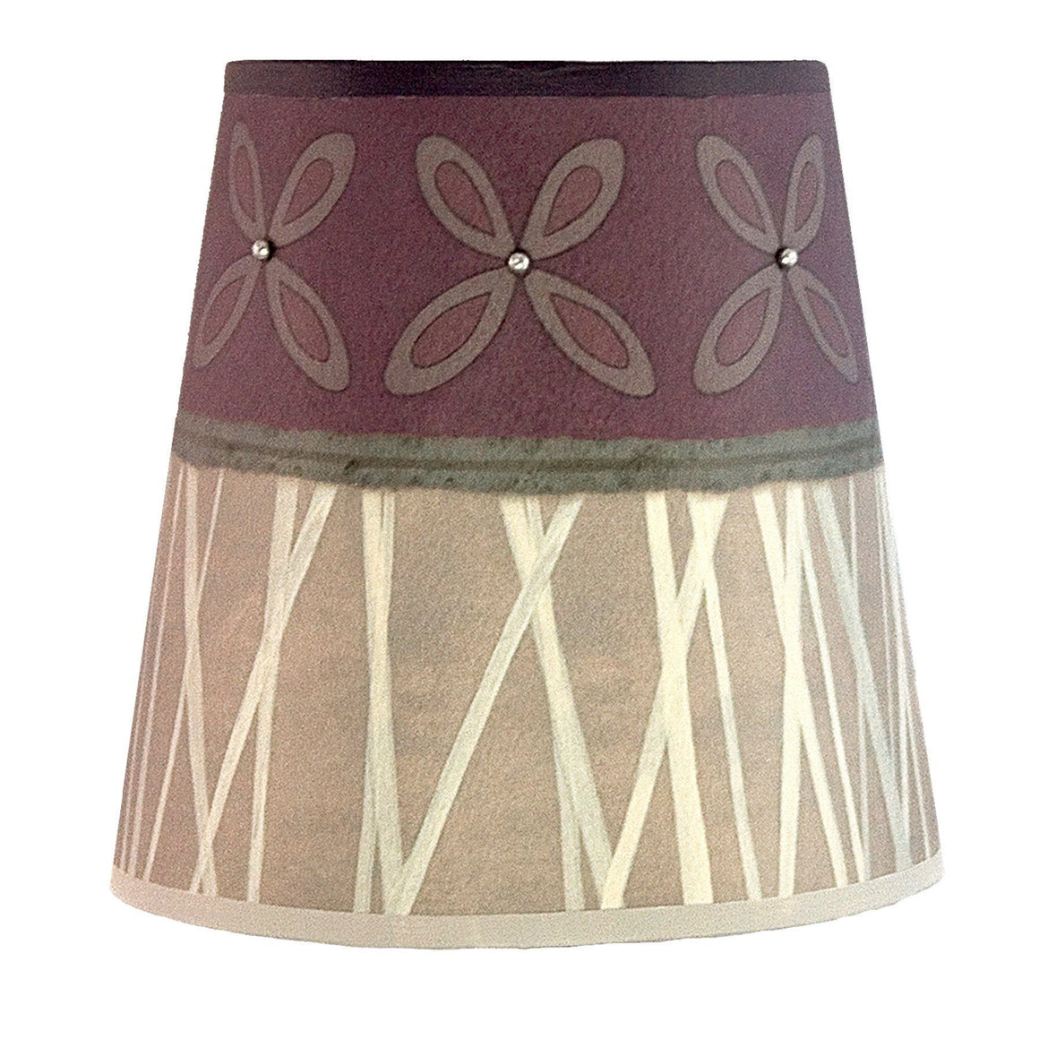 Small Drum Lamp Shade in Amethyst