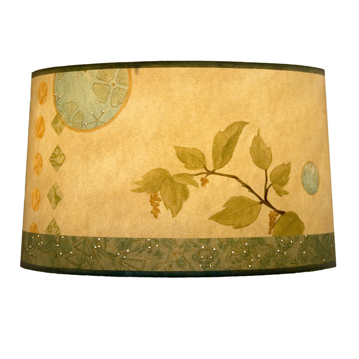 Celestial Leaf Large Drum Lamp Shade