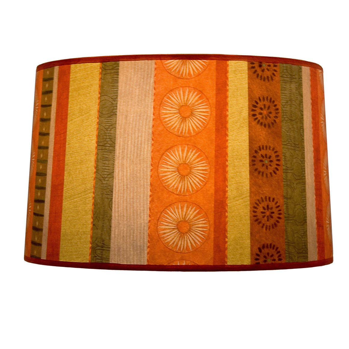 Serape Large Drum Lamp Shade